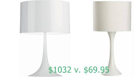 Copy Cat Chic find for Modern Lamp