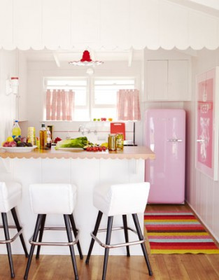 Kitchens in The Pink