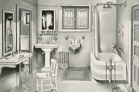 2012 brings a 1920 39 s bathroom renovation spark interior for Bathroom ideas 1920 s